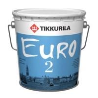 """""""Tikkurila Euro 2"""" краска латексная на основе акрилового сополимера 2,7л"""