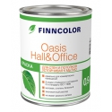 Краска для стен и потолков Финколор Оазис Холл и Офис / Finncolor Oasis Hall&Office 2,7 л