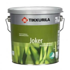Интерьерная Краска Тиккурила Джокер / Tikkurila  Joker акрил латексная, матовая 2,7 л