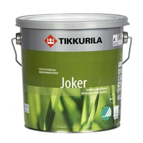 Краска Tikkurila Джокер / Joker акрил латексная, матовая 2,7л