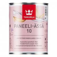 Лак для стен акриловый матовый Тиккурила Панеля Ясся 10 / Tikkurila Paneeli Assa 10 2,7 л