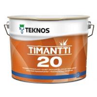 Краска акриловая  Timanti 20 / Тиманти 20 для стен и потолков 9 л