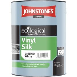 Виниловая полуматовая краска для стен и потолков Vinyl Silk L Base JOHNSTONES 2,5 л