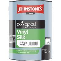 Виниловая полуматовая краска для стен и потолков Vinyl Silk L Base JOHNSTONES 5 л