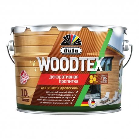 Пропитка алкидная для дерева Dufa Woodtex 10 л
