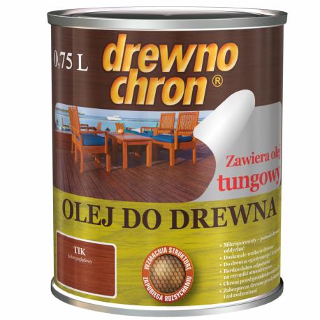 Масло для дерева Drewnochron / Древнохрон 0,75 л