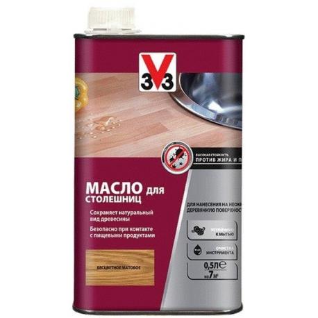 Масло для столешниц V33 бесцветное 0,5 л