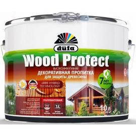 Пропитка декоративная Дюфа Вуд Протект / Dufa Wood Protect 0,75 л