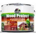 Пропитка декоративная Дюфа Вуд Протект / Dufa Wood Protect 10 л