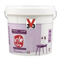 Матовая латексная краска для стен и потолков V33 Facile La Vivre 2,5 л