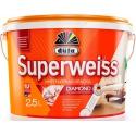 Краска акриловая Дюфа Супервайс / Dufa Superweiss RD4 ослепительно-белая  10 л