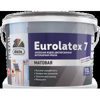 Краска водно-дисперсионная латексная Дюфа Евролатекс 7 / Dufa Retail Eurolatex 7 2,5 л