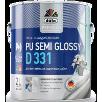 Эмаль акриловая полиуретановая Дюфа Д331 / Dufa Premium Pu Semi Glossy D331 полуматовая 0,5 л