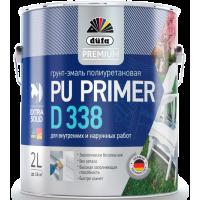 Эмаль грунтовочная акриловая Дюфа Д338 / Dufa Premium Pu Primer D338 2 л