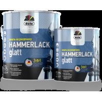 Эмаль по ржавчине 3-в-1 Дюфа Хаммерлак / Dufa Premium Hammerlack гладкая 2,5л