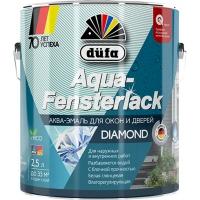 Эмаль для окон и дверей Дюфа / Dufa Aqua-Fensterlack на водной основе 2,5л