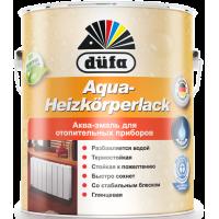 Эмаль для отопительных приборов Дюфа / Dufa Aqua-Heizkorperlack белая 0,75л