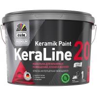 Краска Dufa Keraline 20 / Дюфа Кералайн 20 для кухни и ванной 9 л